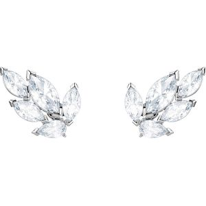 Swarovski Louison Stud Pierced Earrings, Rhodium Plating