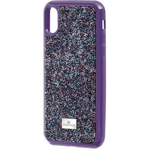 Swarovski Glam Rock Smartphone Case - iPhone® X in Purple