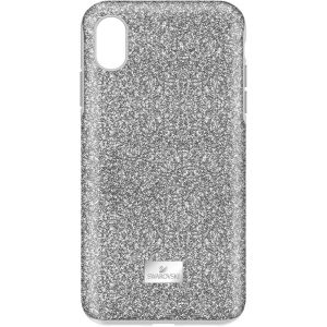 Swarovski High Smartphone Case With Bumper, iPhone® XR, Silver Tone