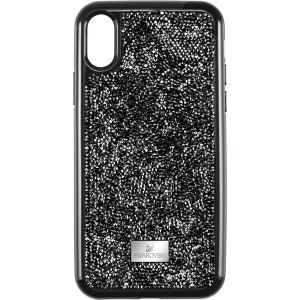 Swarovski Glam Rock Smartphone Case With Integrated Bumper, iPhone® XR, Black