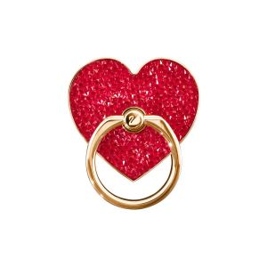 Swarovski Glam Rock Smartphone Ring, Red, Mixed Plating