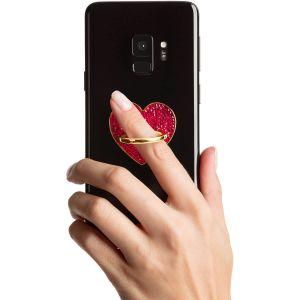 Swarovski Glam Rock Smartphone Ring, Red, Mixed Plating