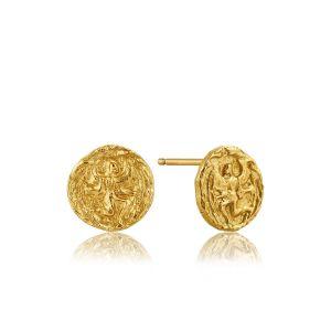 Ania Haie Boreas Stud Earrings, Gold