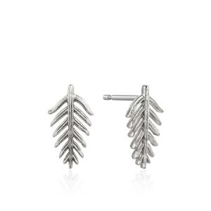 Ania Haie Palm Stud Earrings, Silver