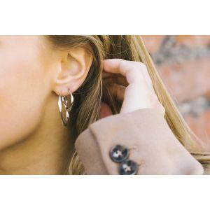 Sif Jakobs Cetara Pianura Earrings, sterling silver