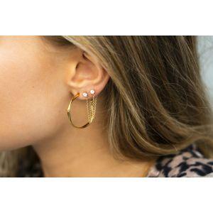 Sif Jakobs Cetara Pianura Earrings, 18ct gold plated