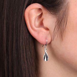 Kit Heath Enchanted Twisted Petal Drop Earrings