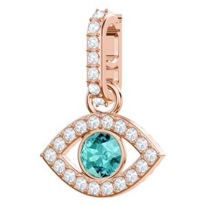 Swarovski Remix Collection Evil Eye, Multi-Coloured, Rose Gold Plating