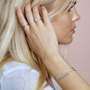 byBiehl Together Family 4 Silver Bracelet