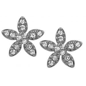 byBiehl Forget Me Not Sparkles Gold Earrings 4-004A-GP