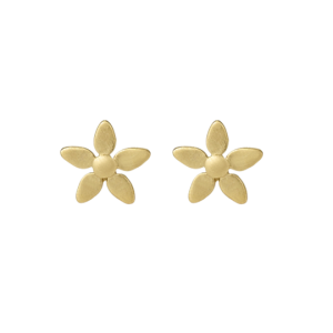 byBiehl Forget Me Not Gold Earrings