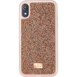 Swarovski Glam Rock Smartphone Case, iPhone® XR, Pink Gold
