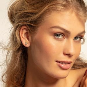 Thomas Sabo Royalty Gold Ear Studs