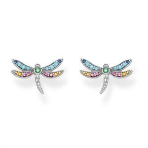 Thomas Sabo Dragonfly Ear Studs, Gold H2051-315-7