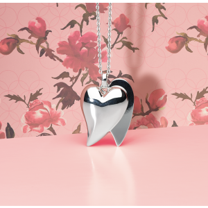Kit Heath Desire Tresured Love Affair Heart Necklace