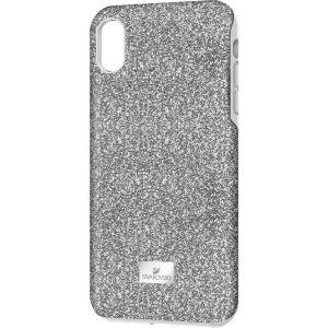 Swarovski High Smartphone Case With Bumper, iPhone® XR, Silver Tone