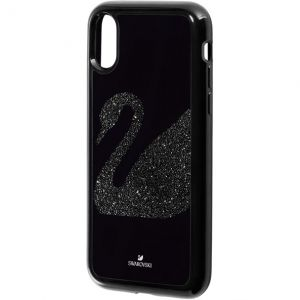 Swarovski Swan Fabric Smartphone Case with Integrated Bumper iPhone® - X/XS