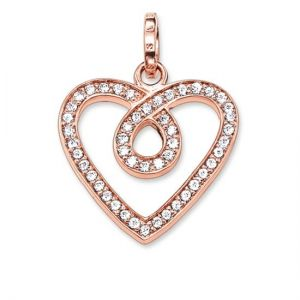 Thomas Sabo 'Infinity Heart' Pendant, Rose