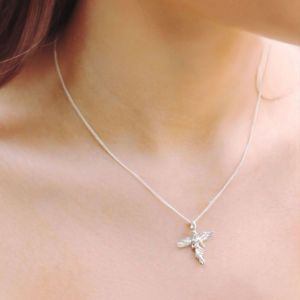 Annie Haak Itsy Bitsy My Guardian Angel Silver Necklace