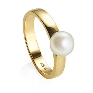 Jersey Pearl VIVA Ring, Gold
