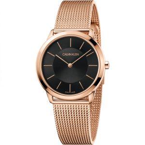 Calvin Klein Unisex Minimal Watch, Silver Tone K3M22126