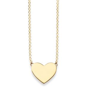 Thomas Sabo Necklace, Gold Heart