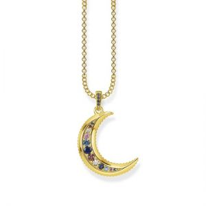 Thomas Sabo Royal Moon Gold Necklace