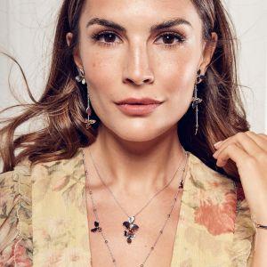 Kit Heath Blossom Petal Bloom Interchangeable Drop Earrings