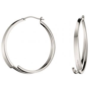 Calvin Klein Beyond Stainless Steel Hoop Earrings