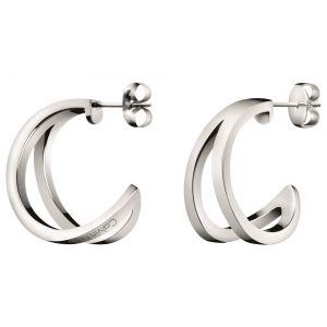 Calvin Klein Outline Stainless Steel Earrings, Small