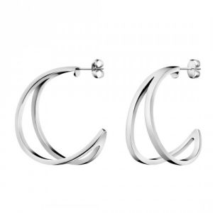 Calvin Klein Outline Stainless Steel Earrings, Medium