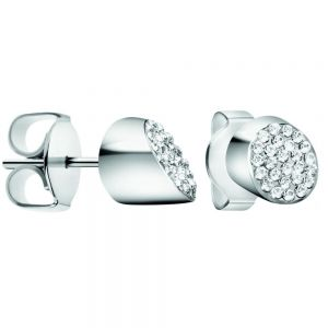 Calvin Klein Hook Stainless Steel and Zirconia Earrings KJ06ME200100