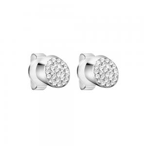 Calvin Klein Hook Stainless Steel and Zirconia Earrings KJ06ME200100