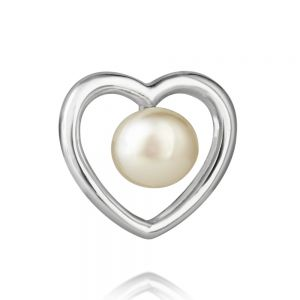 Jersey Pearl Kimberley Selwood Silver and Pearl Earrings