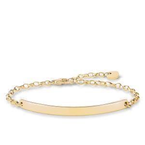 Thomas Sabo Classic Gold Love Bridge Bracelet