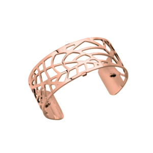 Les Georgettes Fougere 25mm Rose Gold Finish Bangle