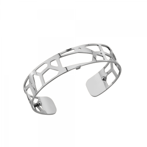 Les Georgettes Girafe 14mm Silver Finish Bangle