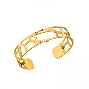 Les Georgettes Girafe 14mm Gold Finish Bangle