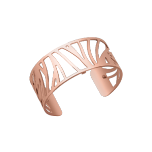 Les Georgettes Perroquet 25mm Rose Gold Finish Bangle