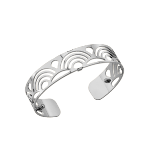 Les Georgettes Poisson 14mm Silver Finish Bangle