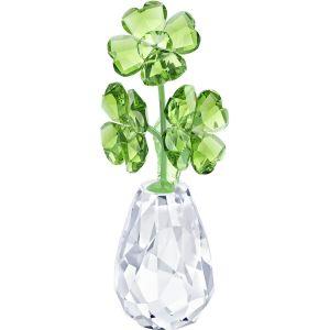 Swarovski Crystal Flower Dreams - Four Leaf Clovers
