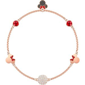Swarovski Remix Collection Minnie Strand, Multi-coloured, Rose Gold Plating