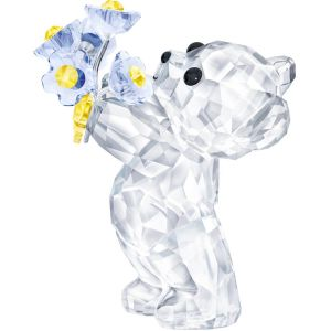 Swarovski Crystal Kris Bear - Forget Me Not