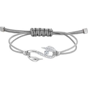 Swarovski Power Collection Bracelet, Grey, Rhodium Plating