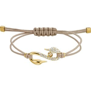 Swarovski Power Collection Bracelet, Brown, Gold Plating