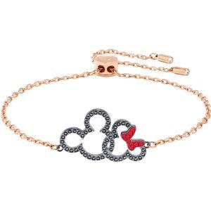 Swarovski Mickey & Minnie Bracelet, Multi-coloured, Mixed Plating