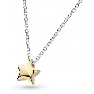 Kit Heath Miniature Shining Star Gold Plate Necklace