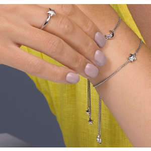 Kit Heath Miniature Sparkle CZ Shining Star Toggle Bracelet