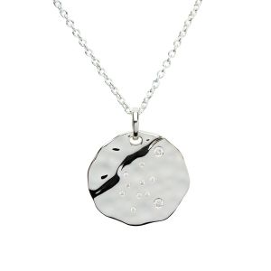 Unique & Co Zodiac Constellation Pendant - Scorpio in Silver MK-625