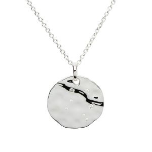 Unique & Co Zodiac Constellation Pendant - Cancer Silver
